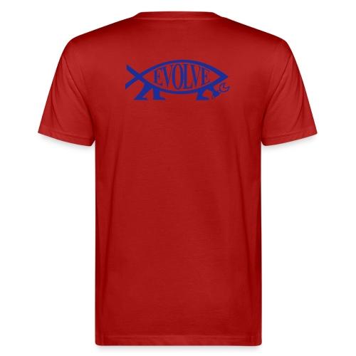 evolve pur - Männer Bio-T-Shirt