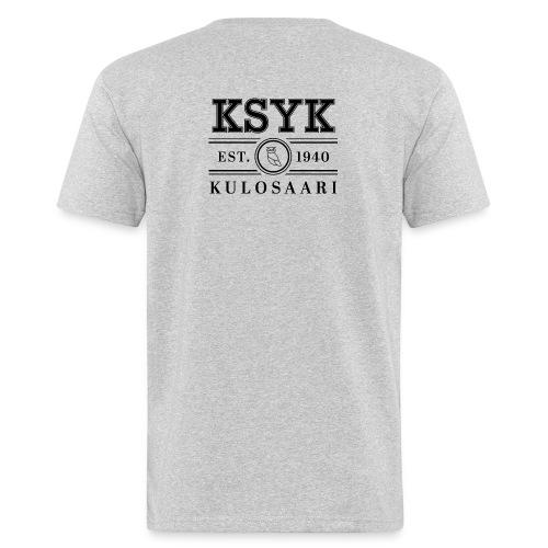 KULOSAARI (BLACK) - Miesten luonnonmukainen t-paita
