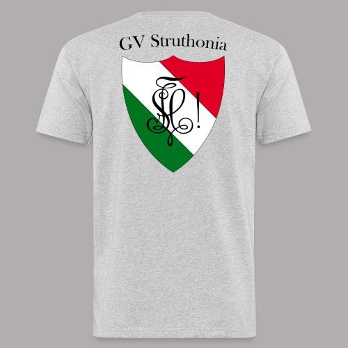 Wappen Struthonia beschriftet - Männer Bio-T-Shirt