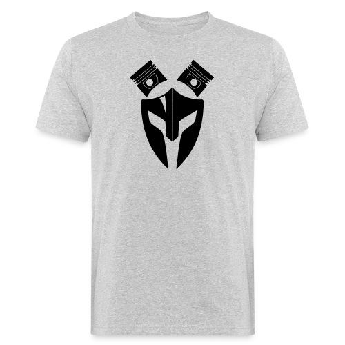 Trucker Maske Kolben 1 - Männer Bio-T-Shirt