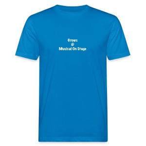 shirt achterkant grows - Mannen Bio-T-shirt