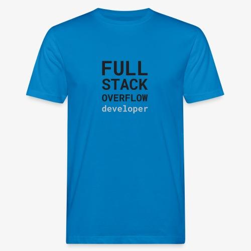 Full stack overflow developer - Men's Organic T-Shirt