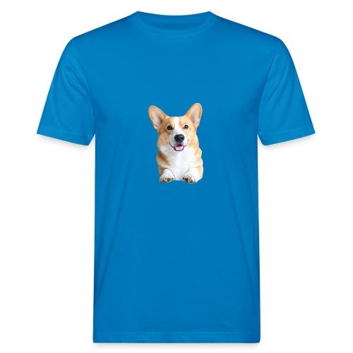 Topi the Corgi - Frontview - Men's Organic T-Shirt