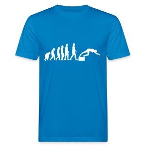 SWIMMER'S EVOLUTION - T-shirt ecologica da uomo