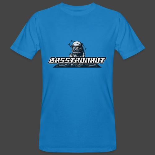 Bassphemie - Basstronaut Logo - Männer Bio-T-Shirt