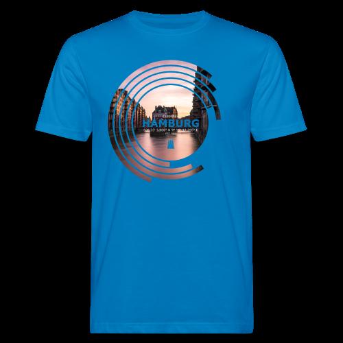 Hamburg Geometrische Form Kreis Spectrum - Männer Bio-T-Shirt