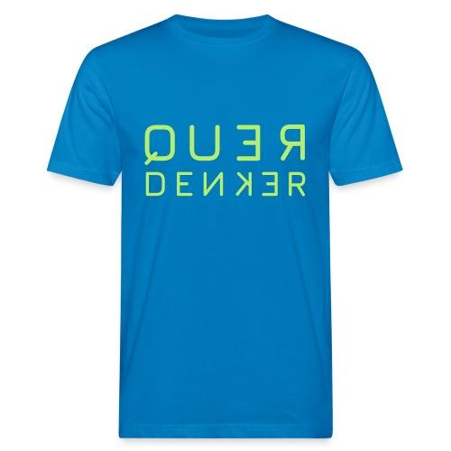 QUERDENKER - Männer Bio-T-Shirt