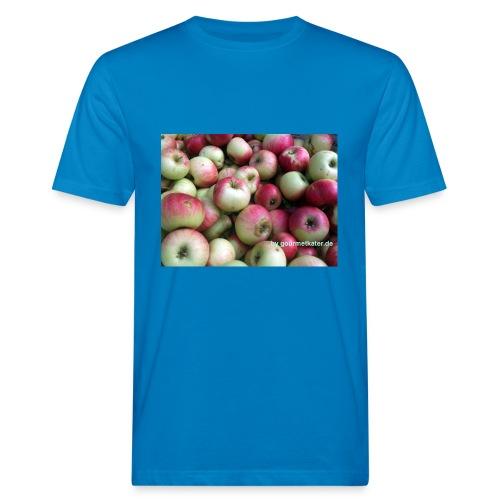 Äpfel - Männer Bio-T-Shirt