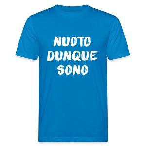 NUOTO DUNQUE SONO - T-shirt ecologica da uomo