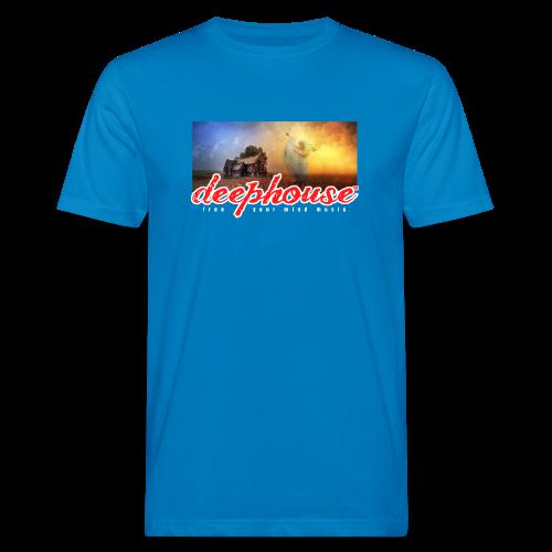 deep house - Männer Bio-T-Shirt