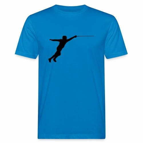 Jumping Fencer - Männer Bio-T-Shirt