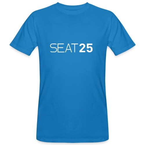 Seat25 Logo Light - Men's Organic T-Shirt