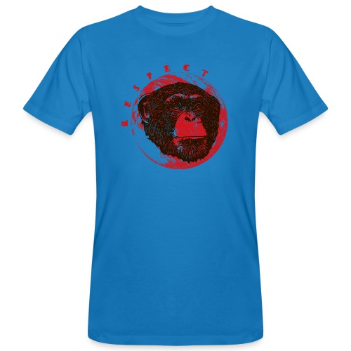 Respect chimpanze - T-shirt bio Homme
