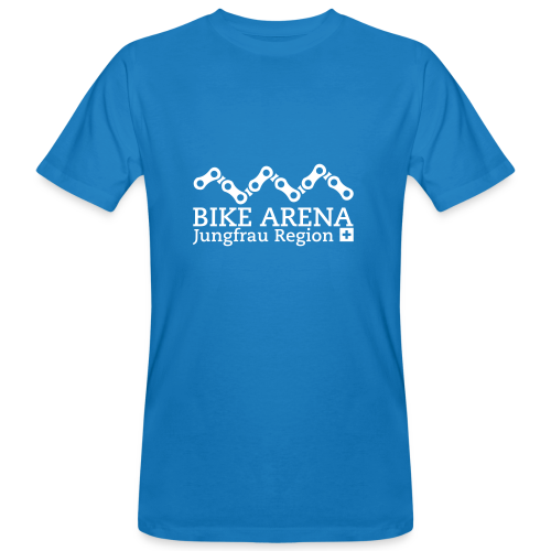 Bike Arena White - Männer Bio-T-Shirt