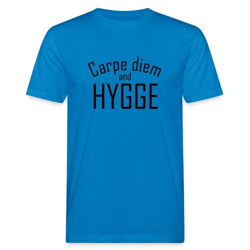 HYGGE Carpe diem - Männer Bio-T-Shirt