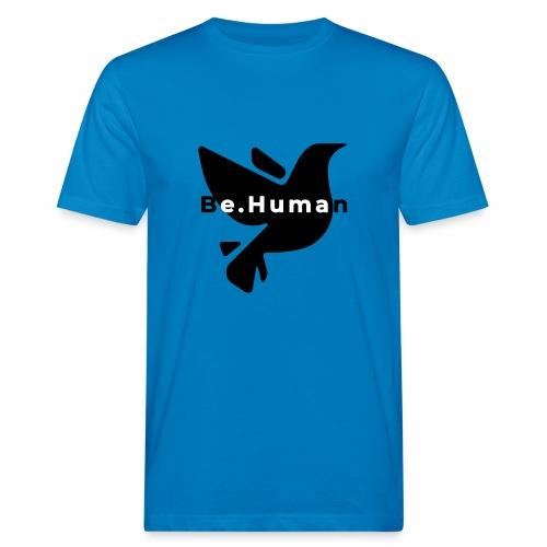 be human liberty - Mannen Bio-T-shirt