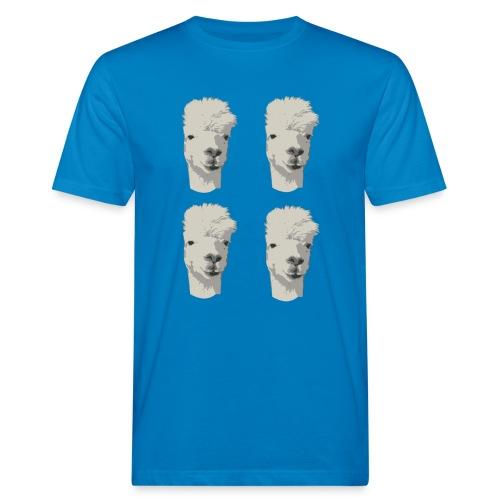 4Alpaka - Männer Bio-T-Shirt