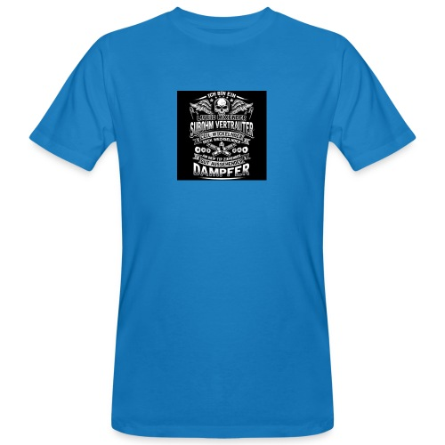 Ich bin ein Dampfer - Männer Bio-T-Shirt