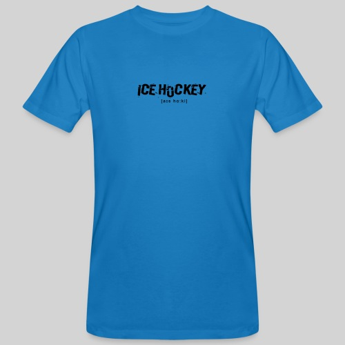 Ice Hockey - Männer Bio-T-Shirt