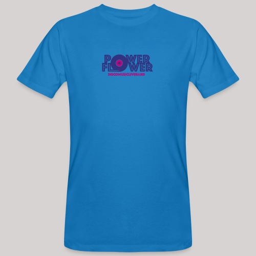 Logo PowerFlower colori - T-shirt ecologica da uomo