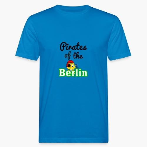 Pirates of the Berlin (schriftzug schwarz) - Männer Bio-T-Shirt