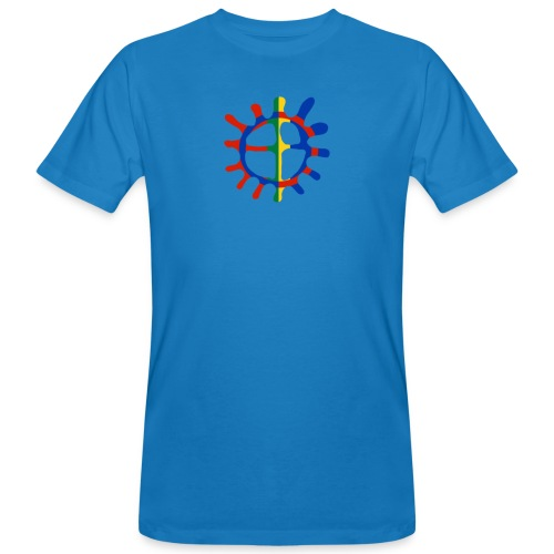 Samisk sol - Økologisk T-skjorte for menn