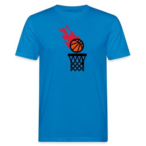 fire basketball - Men's Organic T-Shirt