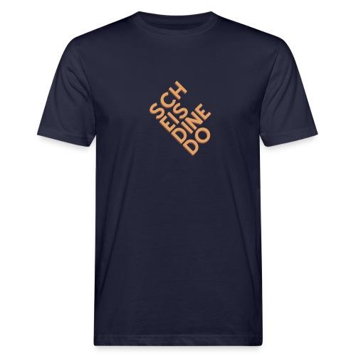 Scheis di ned o - Männer Bio-T-Shirt