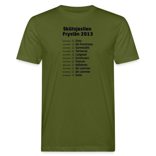 Skutsjesilen Fryslan - Mannen Bio-T-shirt