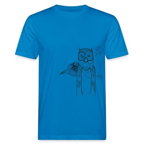 Hiboux png - T-shirt bio Homme