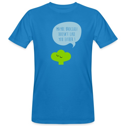 Broccoli doesn't like you - Männer Bio-T-Shirt
