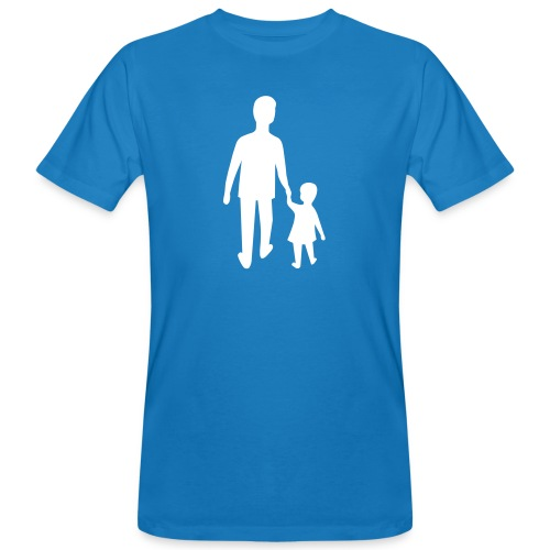 Home with dad - Ekologisk T-shirt herr