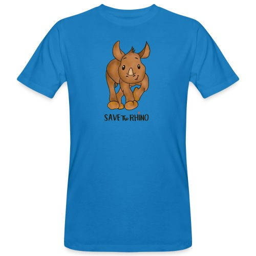 Save the Rhino - Men's Organic T-Shirt