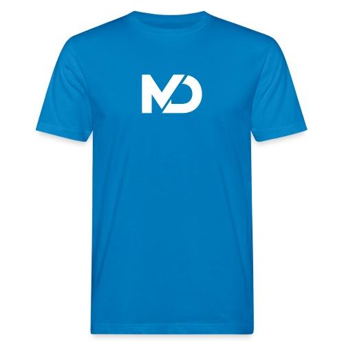 logo_wit - Mannen Bio-T-shirt