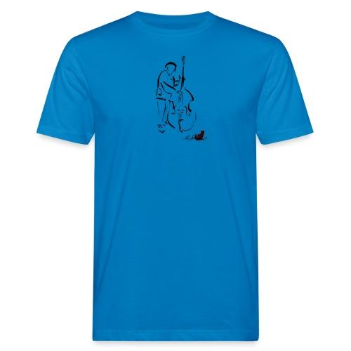 CONTRABBASSISTA - T-shirt ecologica da uomo