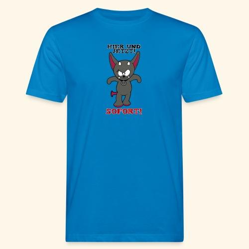 Zwergschlammelfen - Hier und Jetzt, Sofort! - Männer Bio-T-Shirt