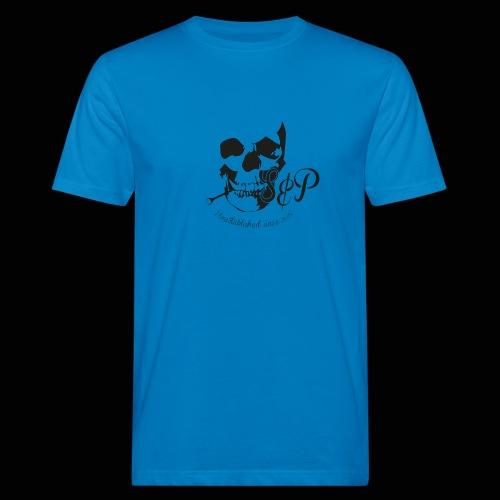 SP Totenkopf 1c Schwarz UNESTABLISHED - Männer Bio-T-Shirt