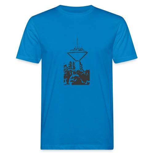 Wasserturm Rottweil schwarz - Männer Bio-T-Shirt