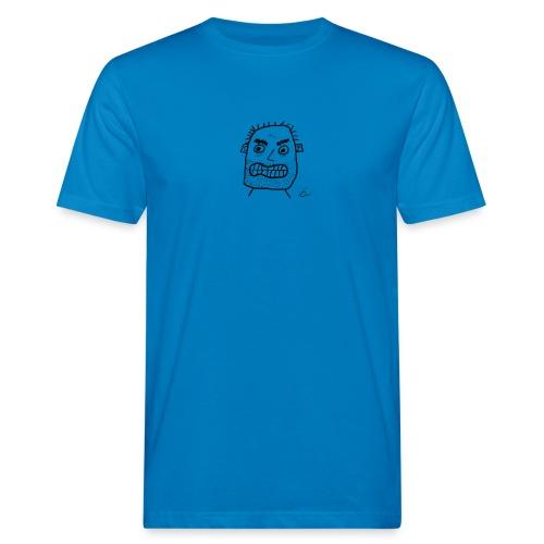 Vit T-shirt Gubben - Ekologisk T-shirt herr