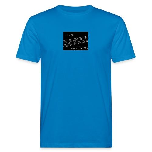 I Love Bass Players - Men's Organic T-Shirt