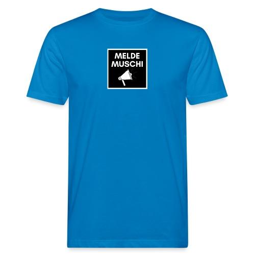 Meldemuschi - Männer Bio-T-Shirt