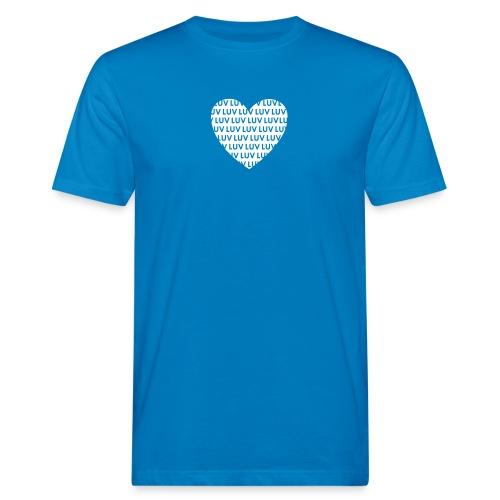 LUV Inverted love - Männer Bio-T-Shirt