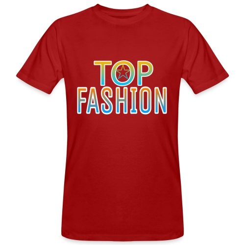 Top Fashion - Camiseta ecológica hombre