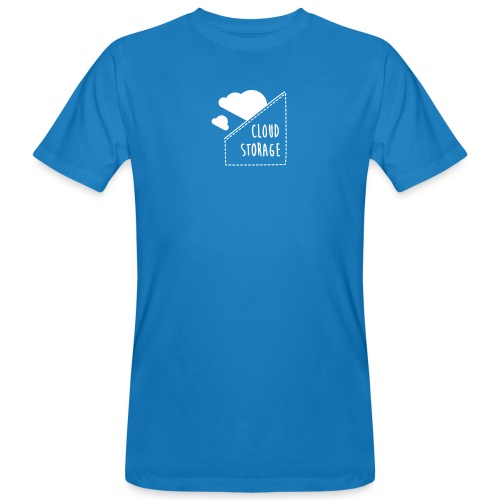 Cloud Storage - Männer Bio-T-Shirt