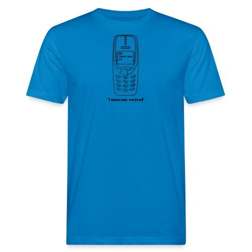 message recived - T-shirt ecologica da uomo