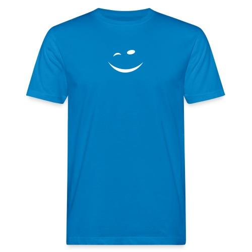 Zwinkersmiley - Männer Bio-T-Shirt