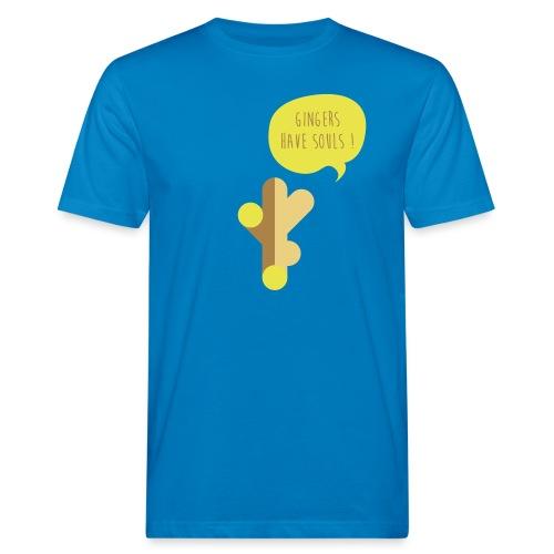 Gingers have Souls! - Männer Bio-T-Shirt