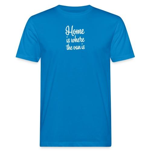 camperhome01b - Økologisk T-skjorte for menn