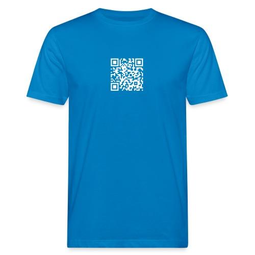 ysmqrcode - Männer Bio-T-Shirt