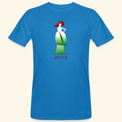 Kimchi Liebe - Männer Bio-T-Shirt